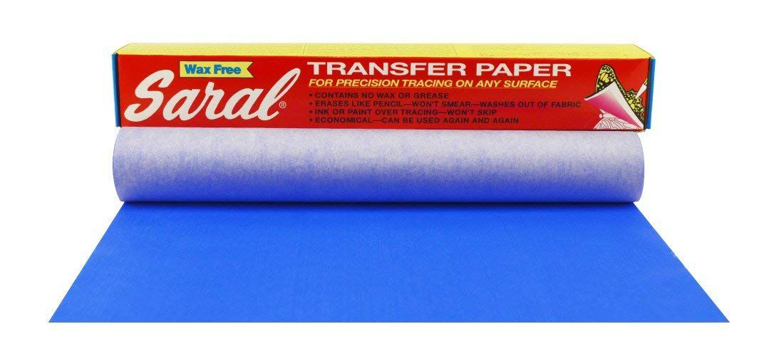 A roll of saral transfer paper to help you draw on the design you want to carve out of the pumpkin.