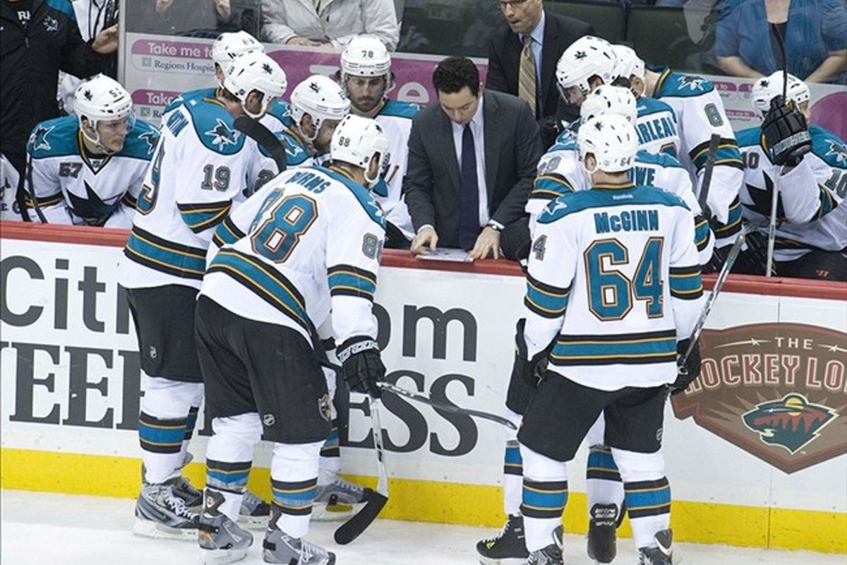 """<em>""""Hold on, lemme check the Relative Corsi of the guys the other team is putting out there...""""</em>"""