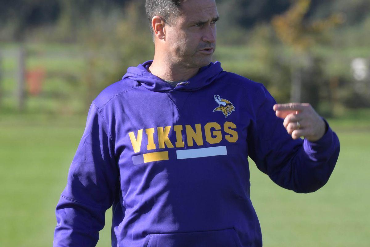 NFL: International Series-Minnesota Vikings Practice