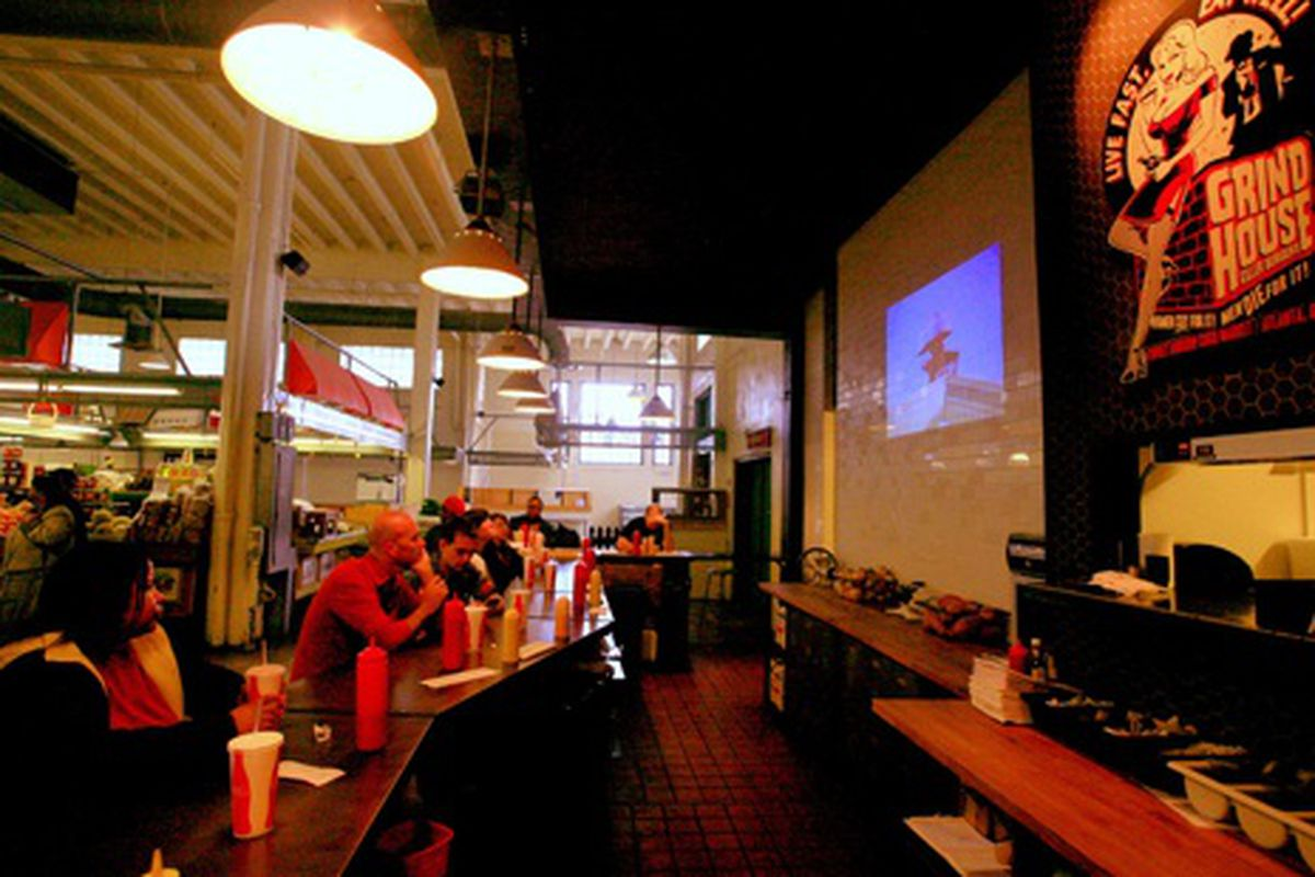 Grindhouse Killer Burgers' Sweet Auburn Location