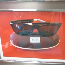 Toms sunglasses, price on request