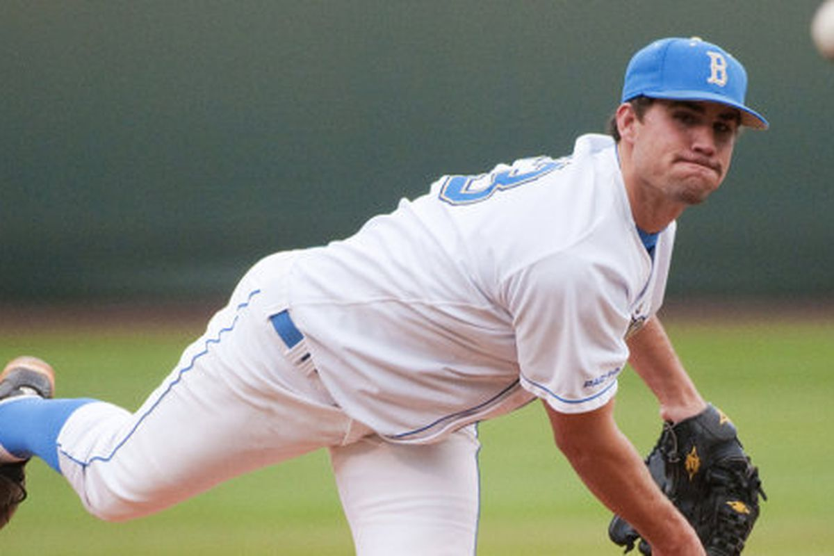 Dan Klein anchors the UCLA bullpen that should be a distinct advantage for the home team this weekend (Photo Credit: Official Site)