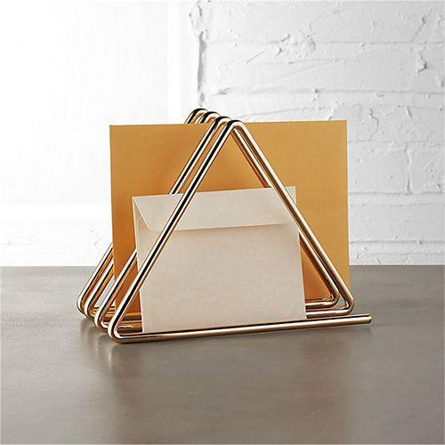 gilded file holder