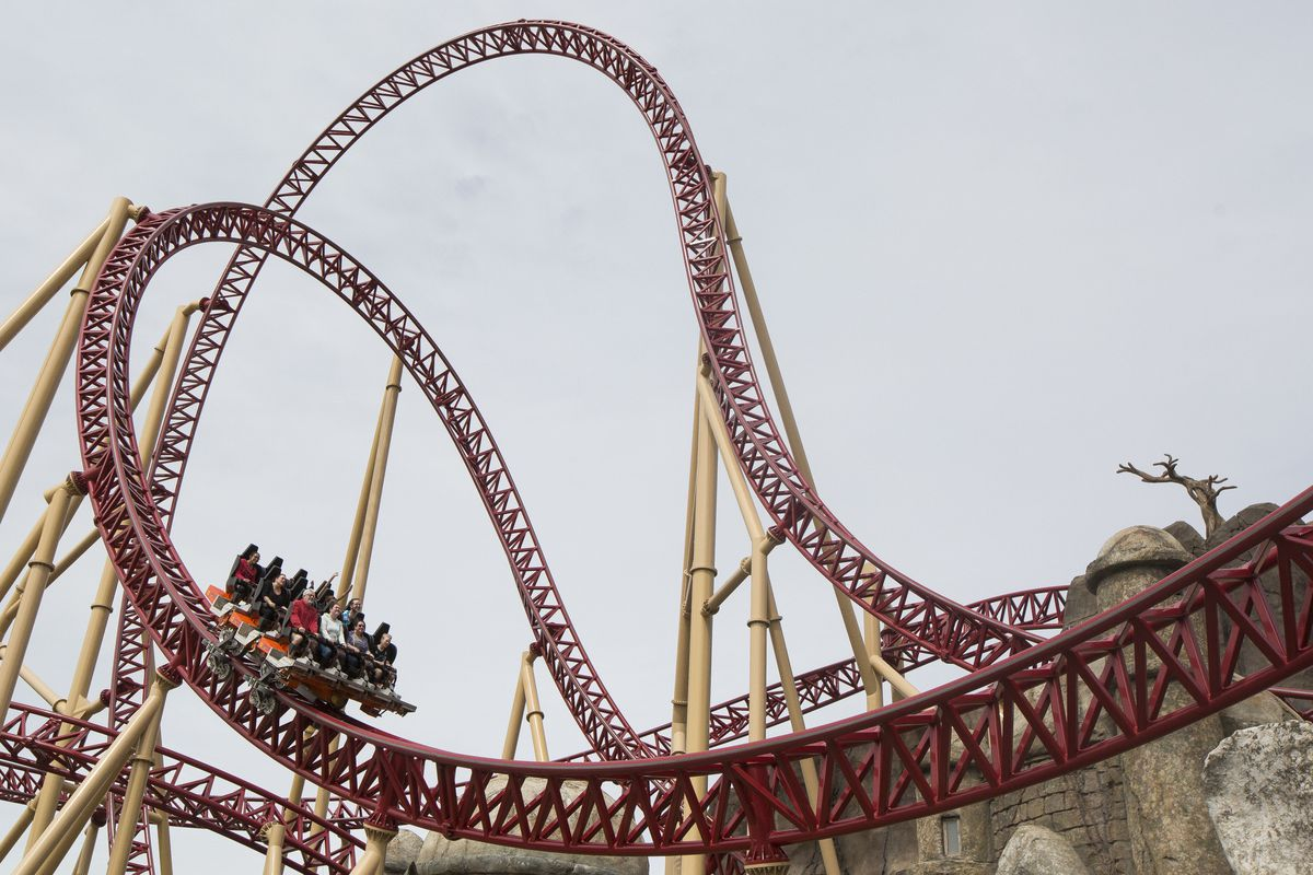 Life can be a roller coaster, with ups and downs, brief moments of calm, and then thrilling, sometimes scary bursts of speed. And what's interesting about the roller coaster of life is that no two rides are ever the same. So it really does no good to comp