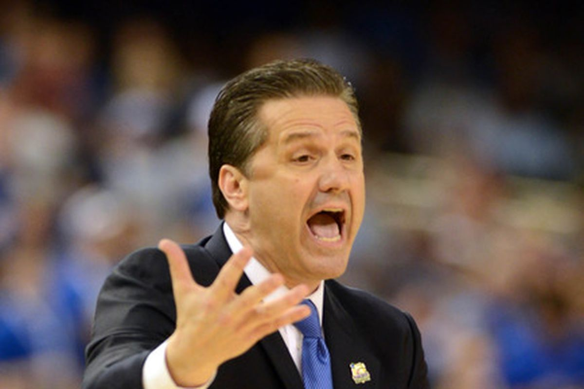 You can bet Coach Cal will be doing some yelling tonight.
