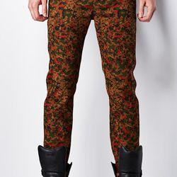 Komakino camoflauge trousers, $90 (were $380)
