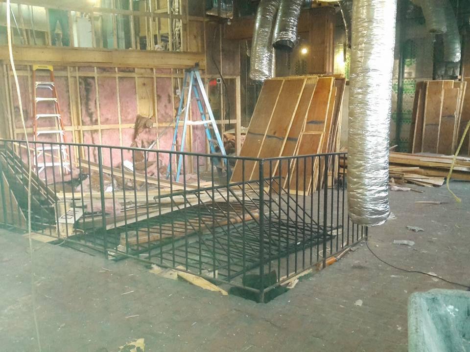 Manuel's Tavern renovation 3