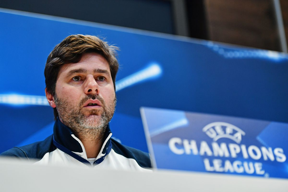 Tottenham Hotspur FC Training Session and Press Conference