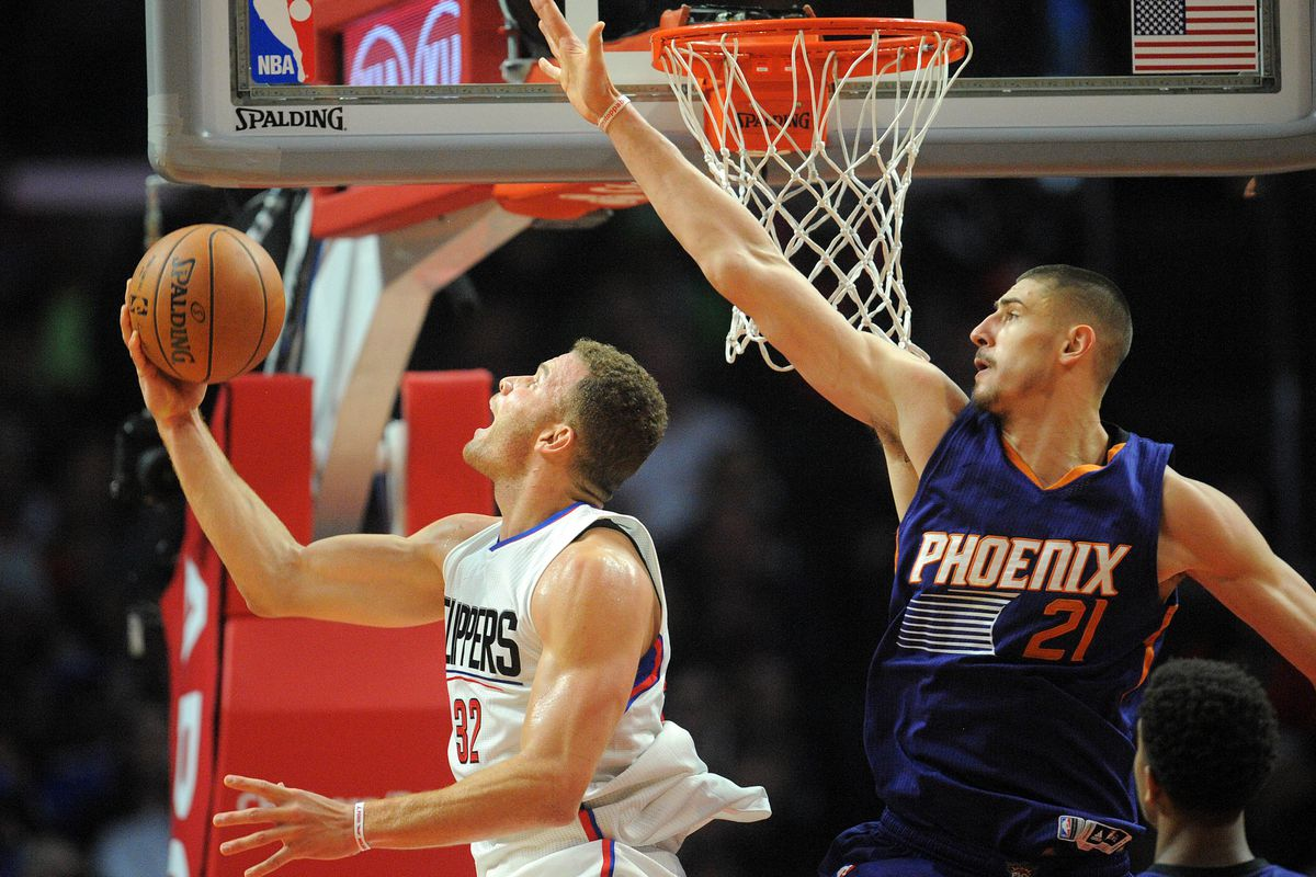 NBA: Phoenix Suns at Los Angeles Clippers