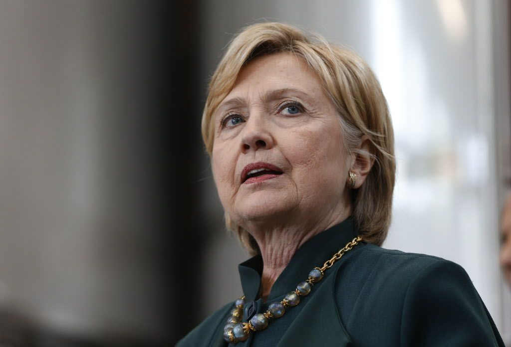Former UN Ambassador Hillary Clinton