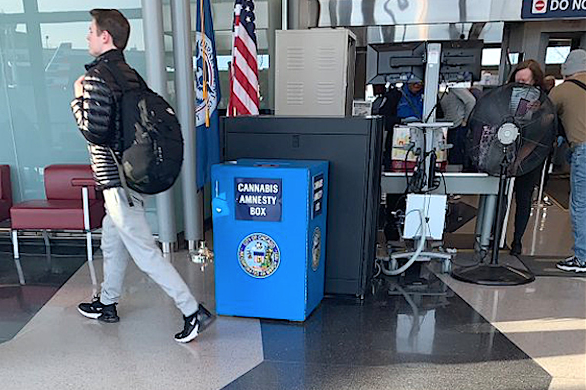 Marijuana stolen from 'amnesty box' at Midway Airport