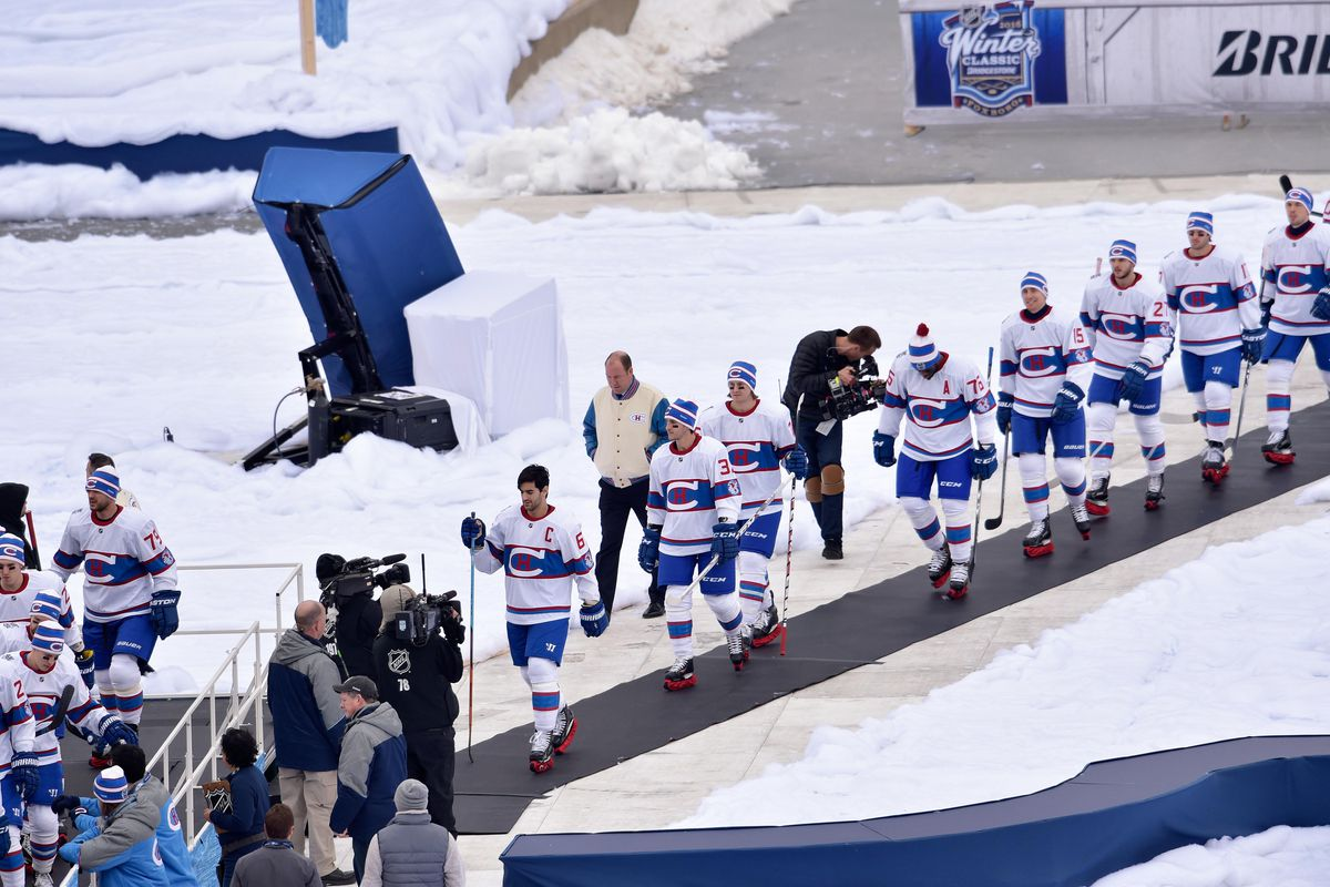 NHL: Winter Classic-Montreal Canadiens at Boston Bruins