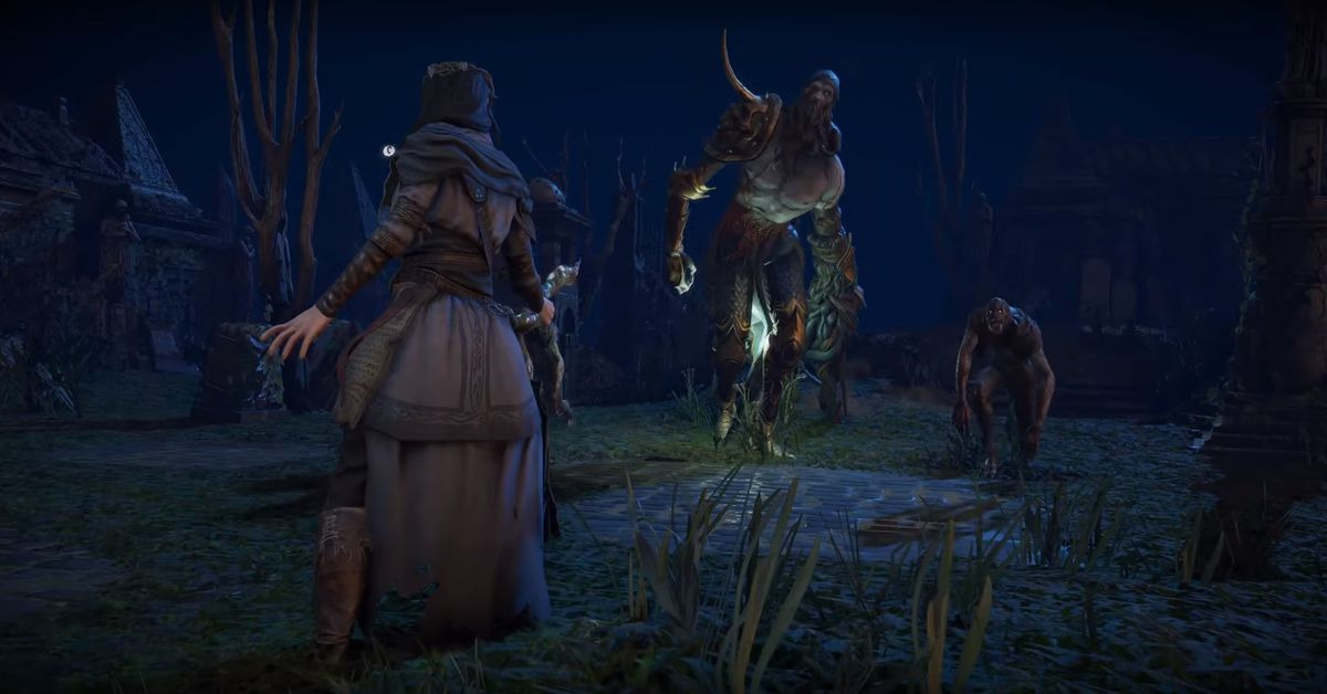 Path of Exile 2 announced with first trailer, 14-minute ...
