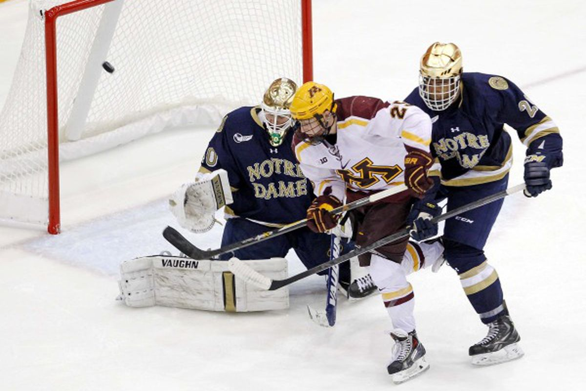 Gophers fans will see a lot more of Notre Dame starting in 2017