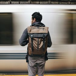 University of Utah student and serial entrepreneur Cavin Nicholson and his partners launched their new outdoor gear company, Boundary, with a Kickstarter campaign for the Prima System modular backpack, pictured. Hoping to raise $60,000, the trio have brought in over $650,000 so far.