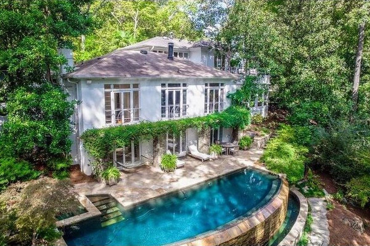 A 1930 buckhead contemporary house for sale right now in Atlanta.
