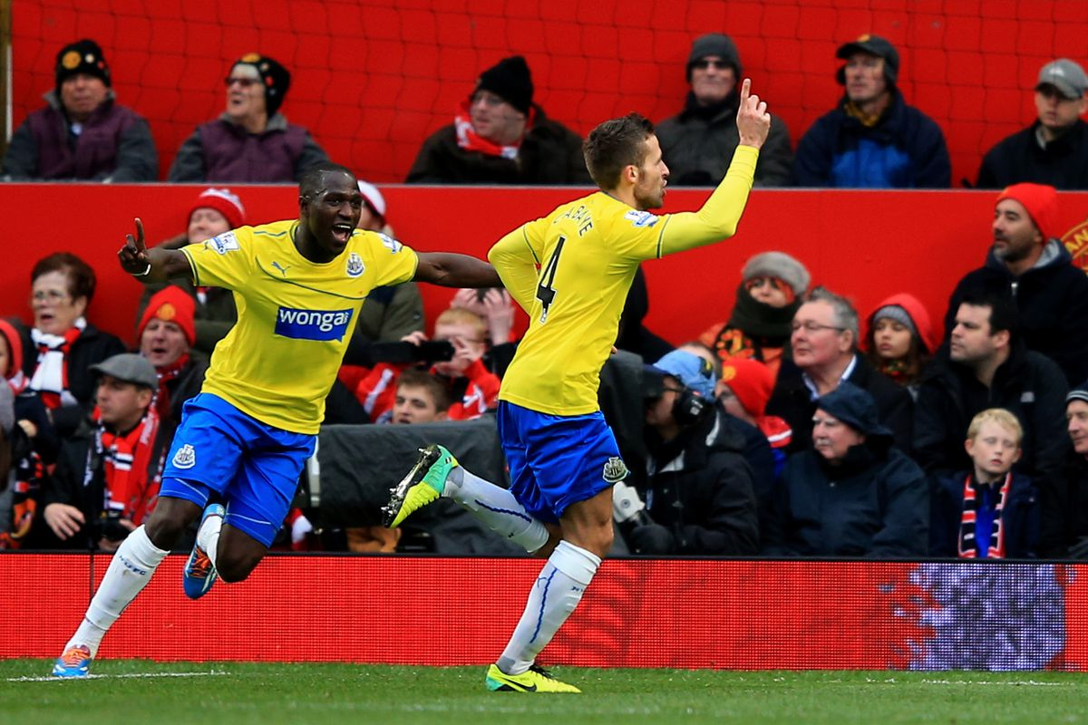 Cabaye helped deliver a historic win for Newcastle