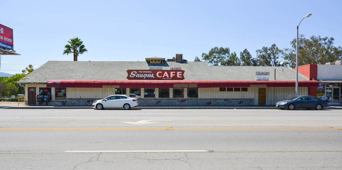 The Original Saugus Cafe Menu