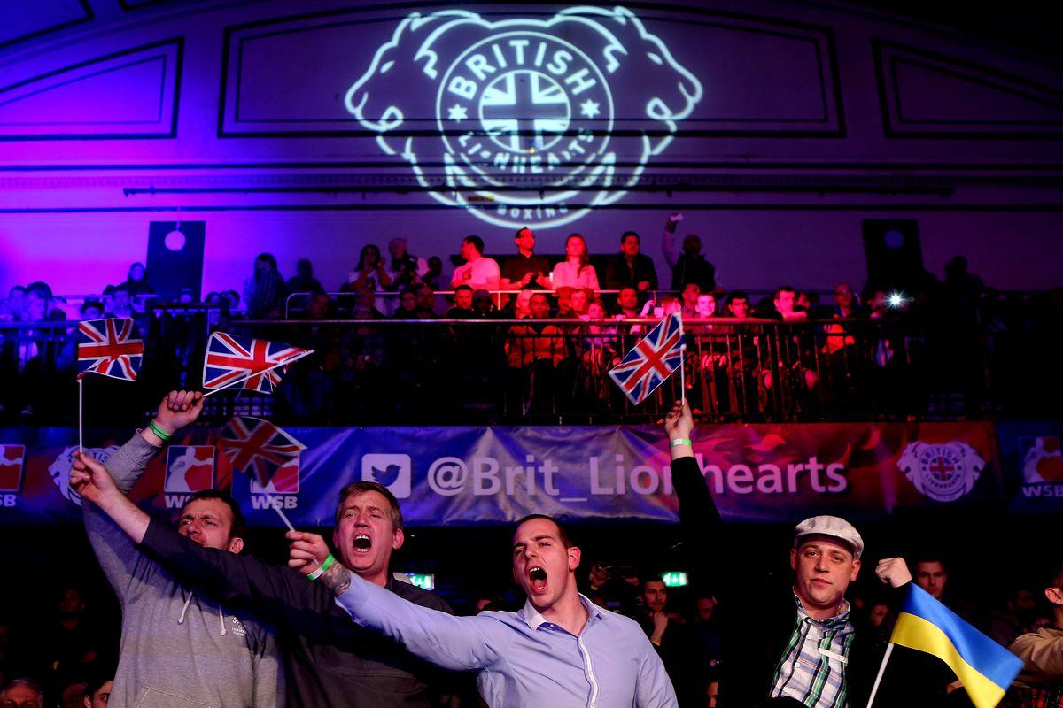 British Lionhearts v Ukraine Otamans - World Series of Boxing