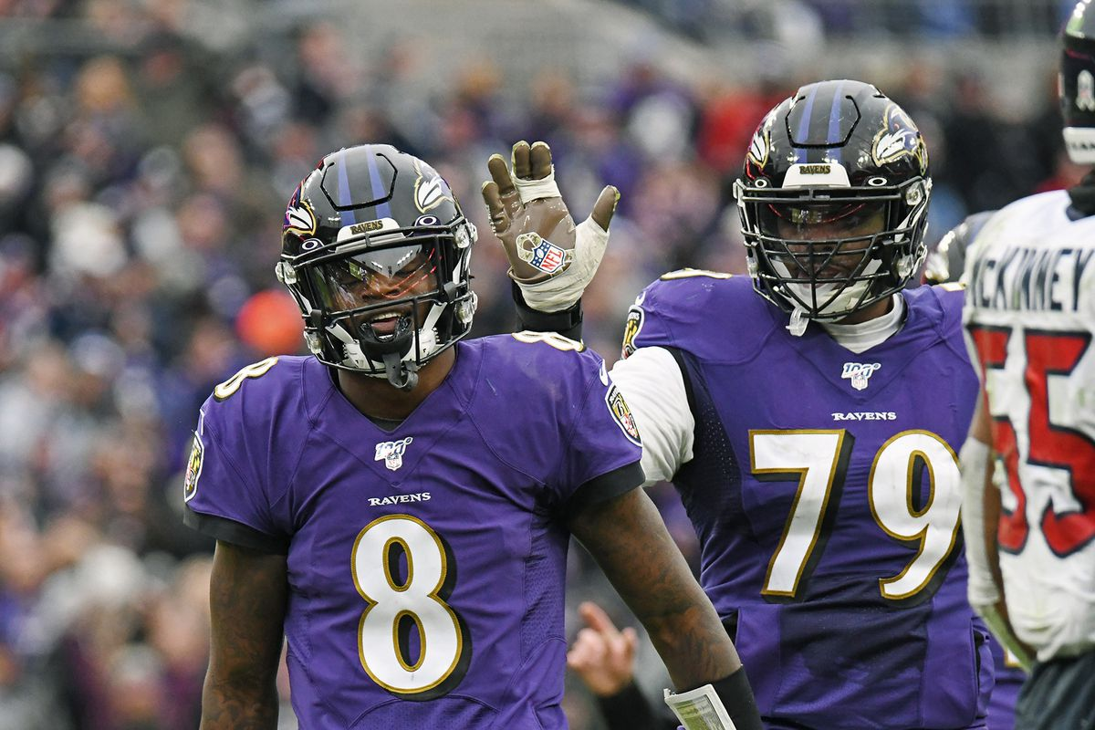 Mike Preston: As Lamar Jackson hype continues to build, don't overlook Ravens' offensive line paving way
