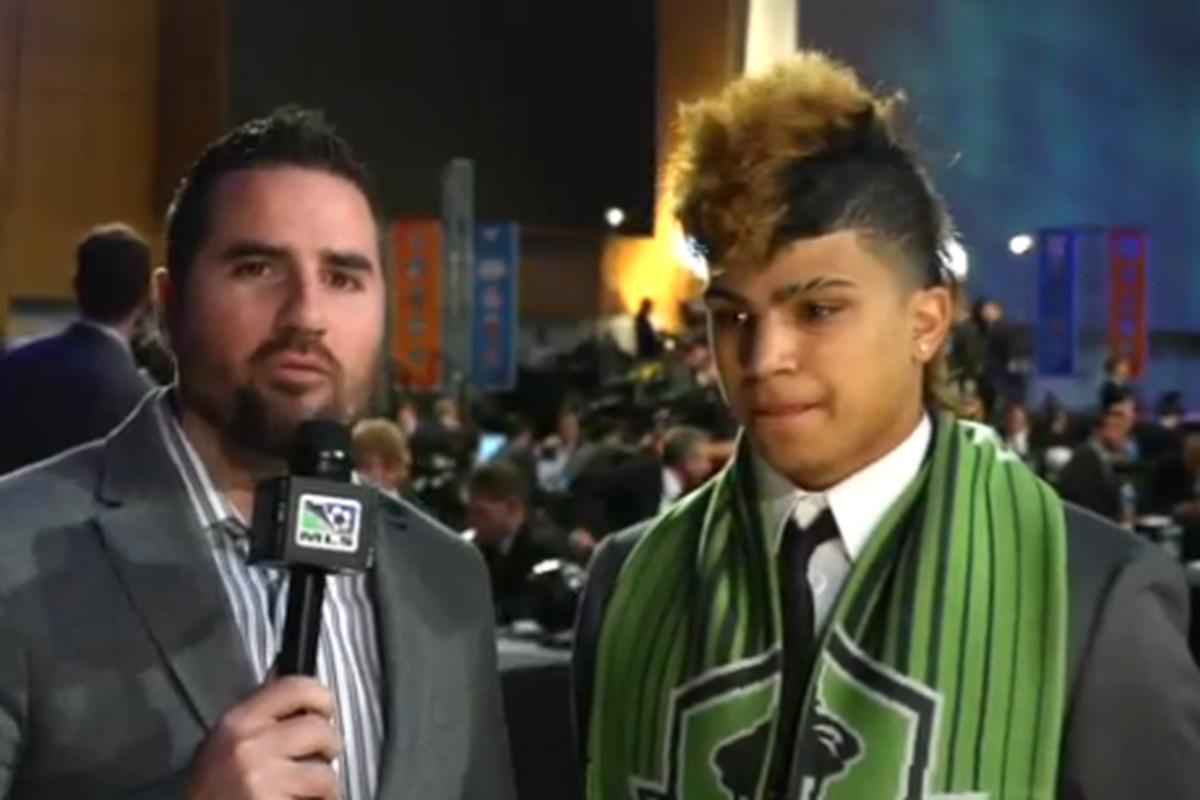 DeAndre Yedlin, Seattle Sounders FC Homegrown Player
