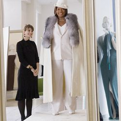 If you're Queen Latifah and you just found out you have multiple brain tumors, you buy pantsuits. Because it's not supposed to make sense. Last Holiday (2006)