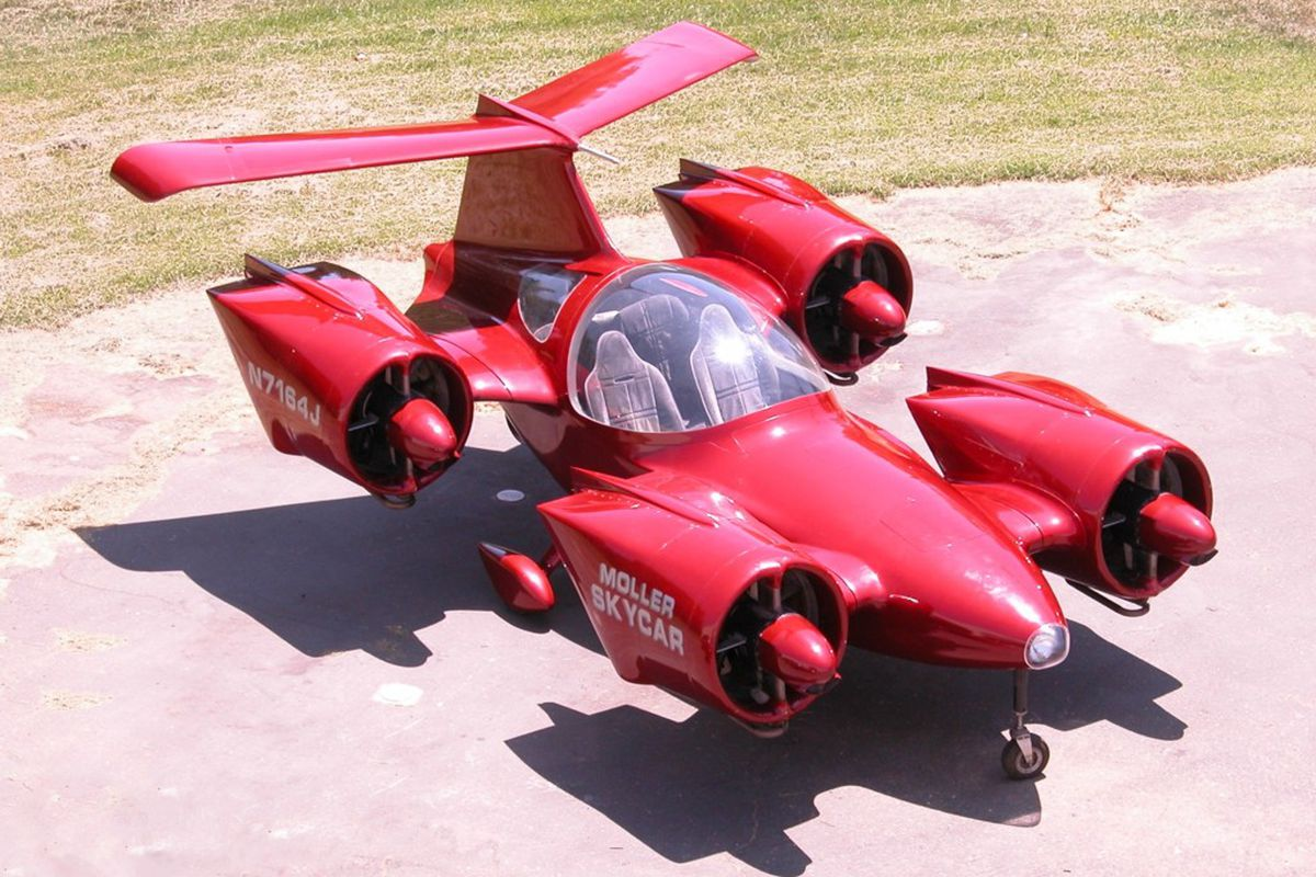Flying Cars For Sale: You Can Now Buy The Moller Skycar, One Of The World's Most