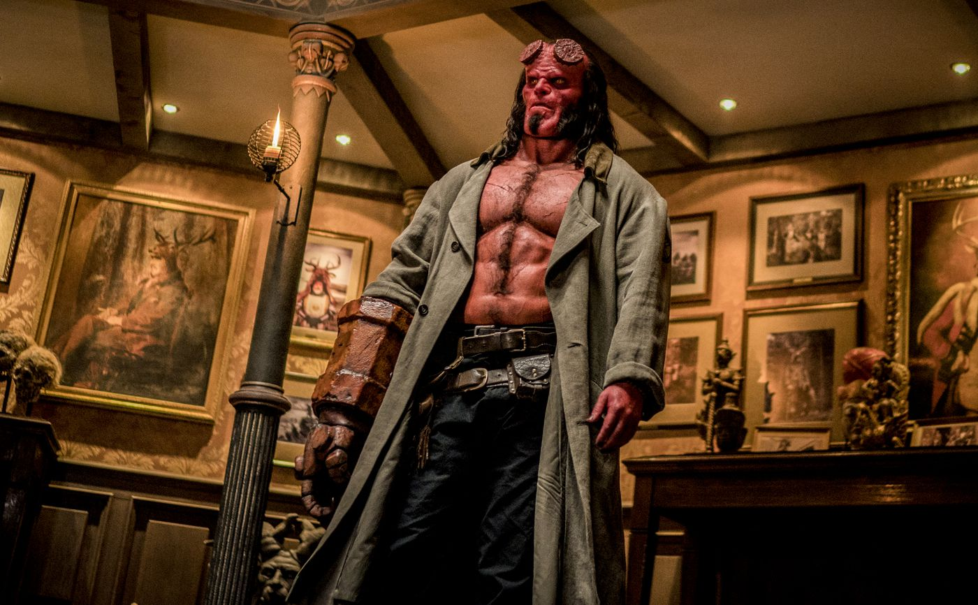 The new Hellboy movie is a death-metal cover of Guillermo
