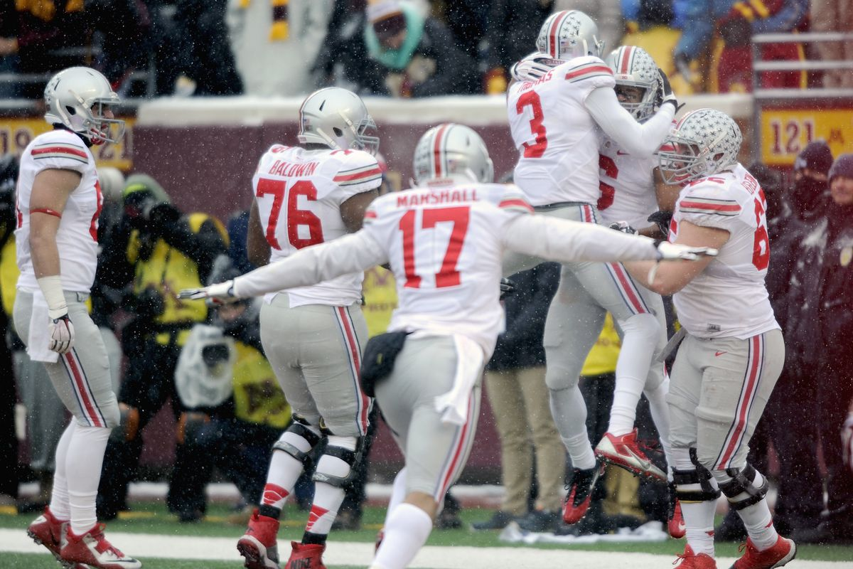 Jalin Marshall and Ohio State are looking to secure their spot in the Big Ten championship game with a win over Indiana.