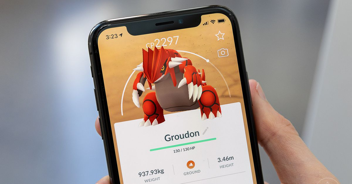 Pokémon Go guide: Groudon raid counters - Polygon