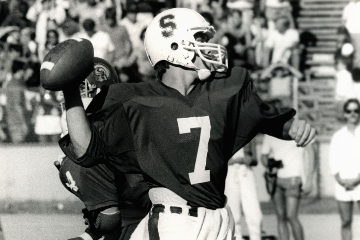 new product 8044e 73df4 Stanford to retire John Elway's No. 7 jersey - SBNation.com