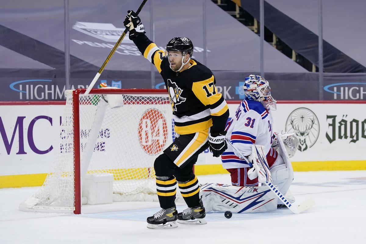 NHL: JAN 24 Rangers at Penguins