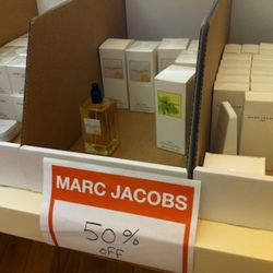 What's left of the Marc Jacobs scents