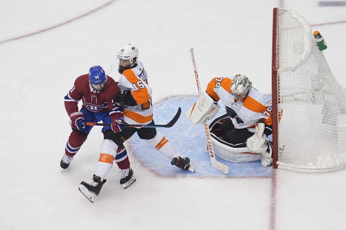 NHL: Stanley Cup Playoffs-Philadelphia Flyers at Montreal Canadiens