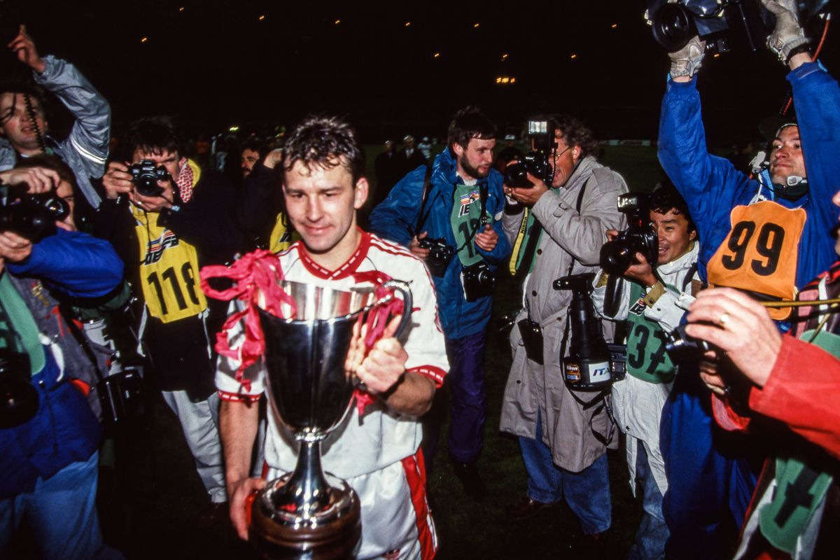 Manchester United v Barcelona - European Cup Winners Cup Final 1991