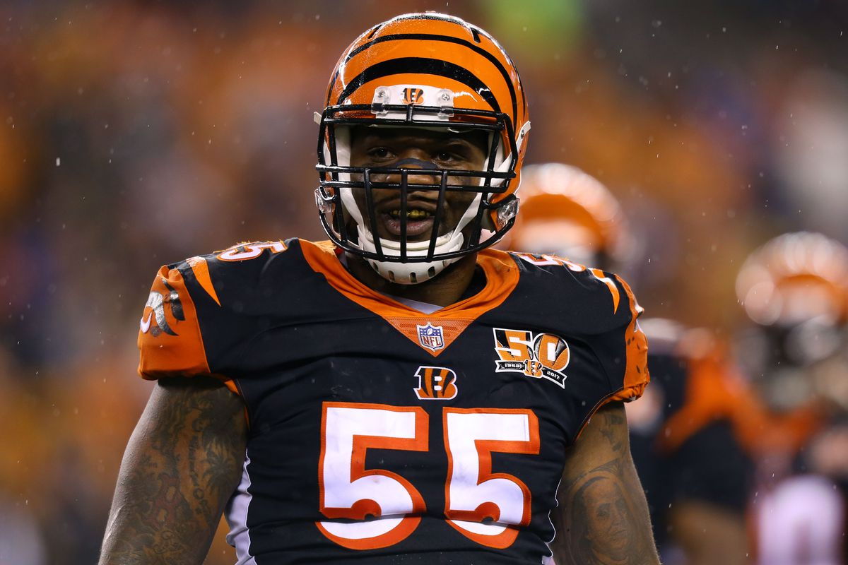 reputable site c1850 ccb45 NFL investigating Vontaze Burfict for trying to injure ...