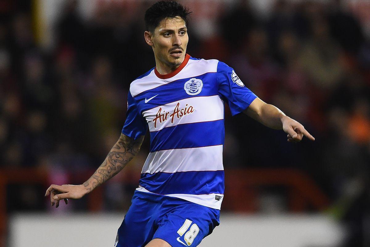 Midfielder Alejandro Faurlin could be QPR's danger man this weekend