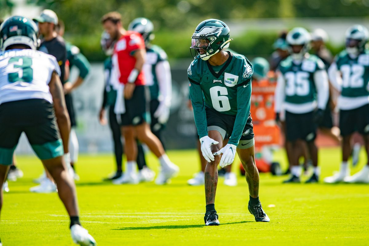 NFL: JUL 30 Philadelphia Eagles Training Camp