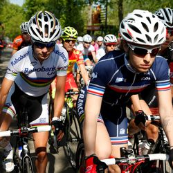 Marianne Vos in the pack
