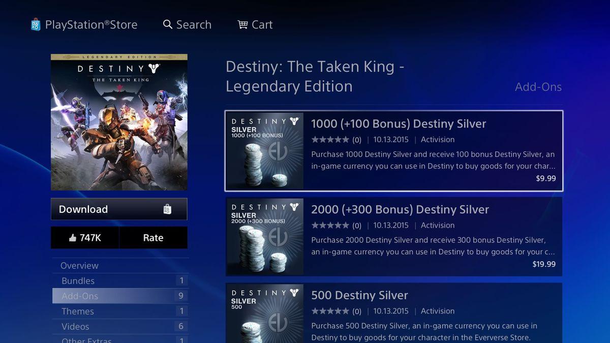 Destiny - Silver price screencap 02 1920