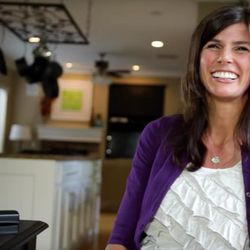 """Shawni Pothier was featured in a video released by the LDS Church in 2011 as part of the """"I am a Mormon"""" campaign."""