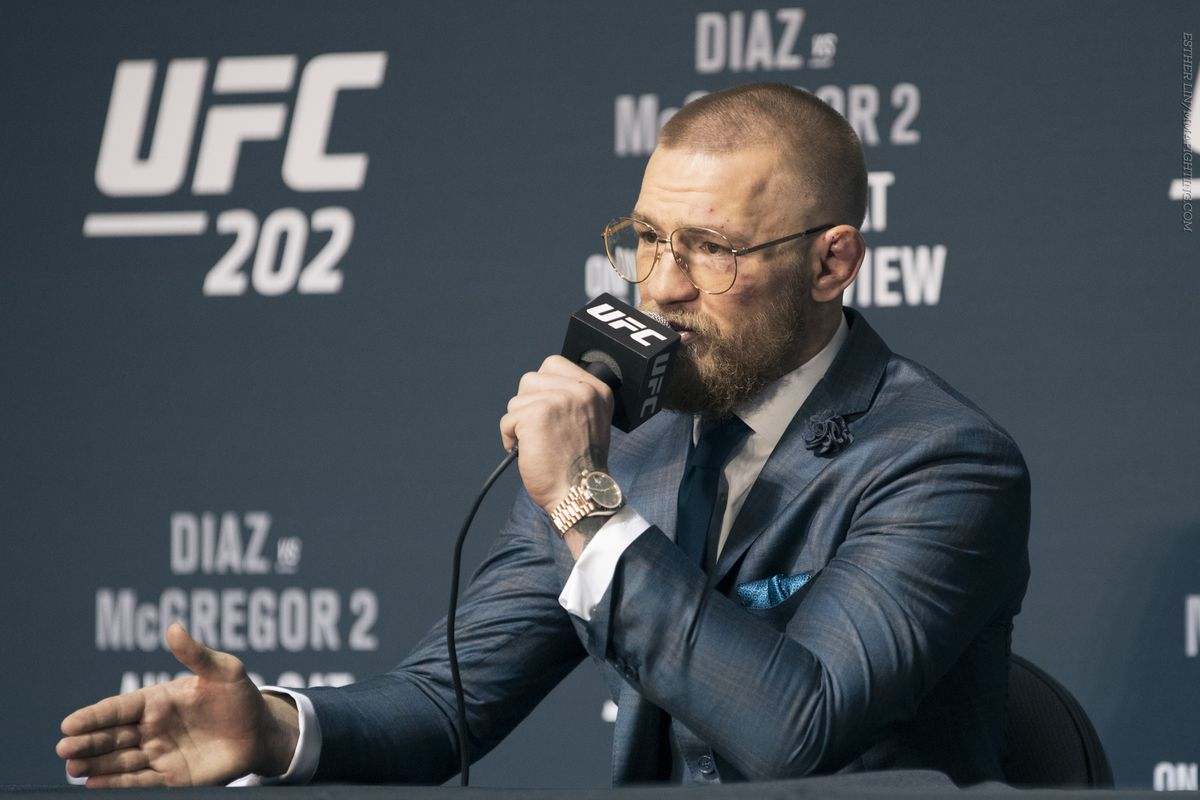 Morning Report Conor Mcgregor Willing To Serve As Co Main Event For