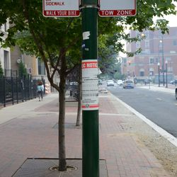 Mon 4:44 p.m. New parking signs on Sheffield -