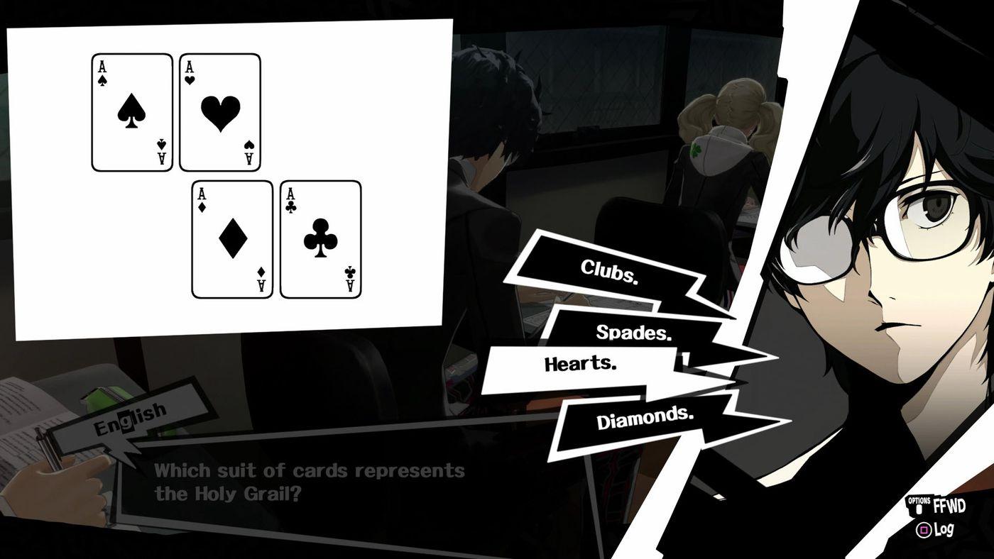 Persona 5 guide: All classroom answers - Polygon