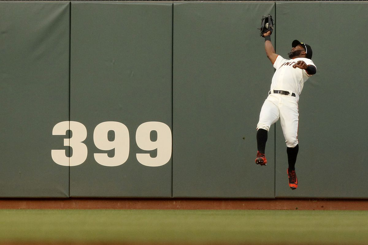 Okay, technically the headline reads that Madison Bumgarner did everything, but ... this catch, man ...
