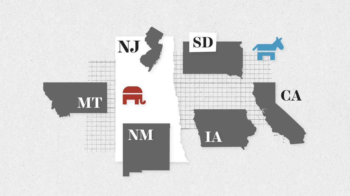 June 5 primary: live results in California, New Jersey
