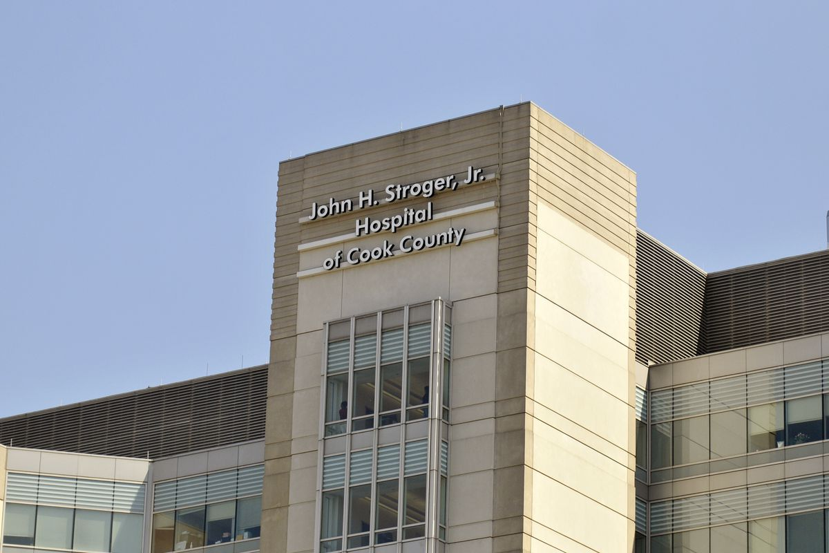 Emergency room nurse at Stroger Hospital is said to have taken IV equipment and administered IV flushes outside the hospital without physician approval.