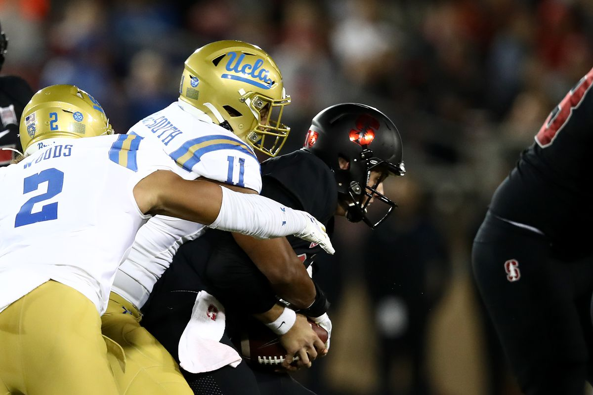 UCLA Football Gets Stanford Monkey Off the Bruins' Backs