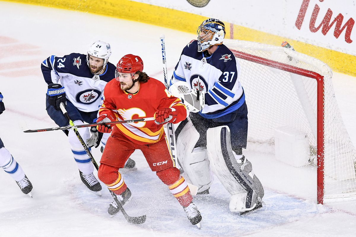 NHL: FEB 09 Jets at Flames