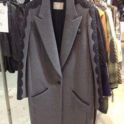 Sample coat, $650